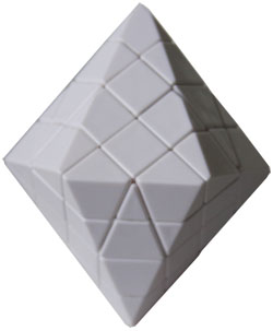 4 layer spinning top White Body